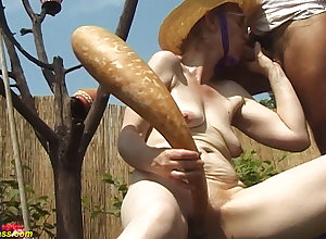 84 seniority grey mommy alfresco fucked