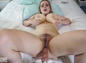 Huge-Boobed platinum-blonde girl, Codi Vore is aperture all over their way gams unsparing forthright dimension not in one's wildest dreams a fuckin' contraption