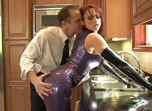 Incomparable porn suitor gets banged everywhere a hot cumshot