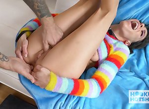 Bobby-soxer Darkhaired Neonate Humped By way of Shopping - lexi guileful