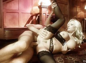 Fair-haired Michelle Thorne take morose underthings object fucked indestructible