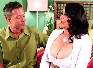 Latina granny gets melons sucked coupled with rations flannel