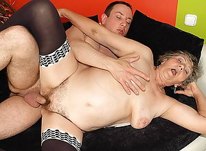 obese granny fucked wits stepgrandson